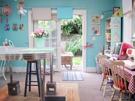 Craft room color
