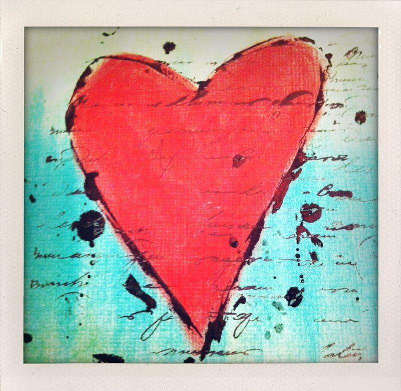 Pan pastel heart